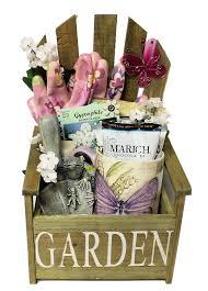 garden chair planter gift basket gift baskets canada online