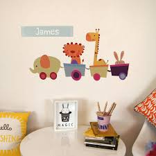 28 bespoke wall stickers personalised custom wall sticker bespoke wall stickers personalised animal train wall stickers by parkins