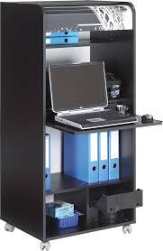 bureau informatique noir bureau secrétaire informatique noir elissa bureau bureau