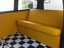 volkswagen kombi interior finishing our yellow kombi interior righteous kombis