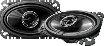 pioneer ts g4645r 4 x 6 2 way speakers at crutchfield