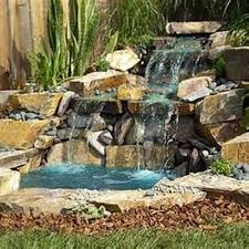 Waterfall In Backyard Small Backyard Ponds And Waterfalls House Design And Office How