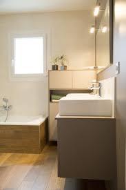 parquet pour salle de bain une salle de bains aux allures de sauna annie mazuy