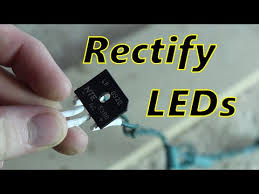 fix flickering led christmas lights rectifying led lights youtube