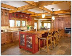 rustic kitchen islands with seating rustic kitchen island with seating home design ideas