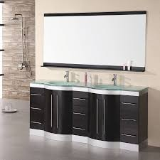 72 Bathroom Vanity Double Sink by Shop Design Element Jasper Espresso Integrated Double Sink