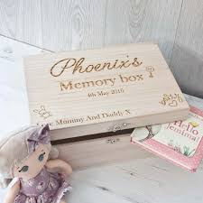 wooden baby keepsake box wooden memory box new baby