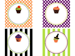 Free Halloween Printable Templates by Cute Label Templates Template Design