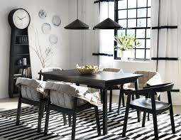 ikea dining room furniture ikea dining room design ideas brick wall decoration ideas fur rugs
