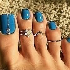 toe rings images Teal waters 3 pc toe ring set grace callie designs jpg