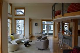 loft penthouse in seattle usa with water and space needle views