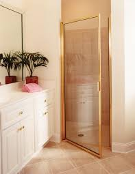 Gold Shower Doors Shower Doors And Enclosures Pollack Glass Company