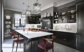 Kitchen Island Breakfast Table by Best Classic Kitchen Designs Contemporary Shaped Chandelier Modern