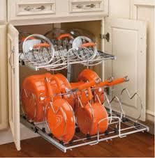 kitchen pan storage ideas storage pots and pans rack ideas with pots and pans lid storage