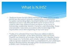 national junior honor society application process ppt download