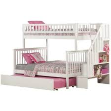 Bunk Beds With Trundle Bed Trundle Bunk Loft Beds You Ll Wayfair