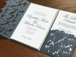 silver wedding invitations navy blue wedding invitations slate blue wedding invitations