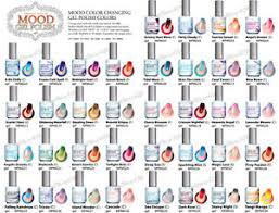 perfect match colors lechat perfect match mood color changing gel polish set of any