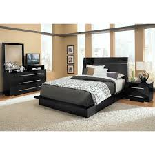 Bedroom Set With Media Chest Dimora 6 Piece King Panel Bedroom Set With Media Dresser Black
