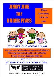 Hols by Dance Sing Groove U0026 Shake Snowy Mountains Neighbourhood Centre
