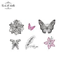 small flowers stickers lasting painted flowers