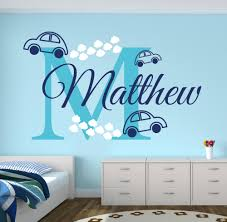compare prices on car wall sticker online shopping buy low price personalized name cars wall stickers for boy s bedroom removable diy wall stickers for kids room nursery