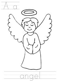 81 coloring pages boy angels angel boy song coloring