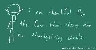 thanksgiving carols the chalkboard manifesto