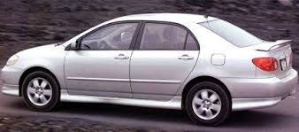 2005 toyota corolla review 2003 toyota corolla road test review car and driver
