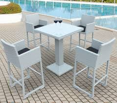 wall mounted patio table piece outdoor bar set wicker table design furnishings patio