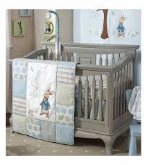 lambs u0026 ivy peter rabbit 4 piece crib bedding set