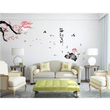 Home Letters Decoration by Plum Blossom Lotus Moon Birds Chinese Letters All Rivers Run Into