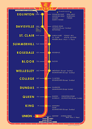 Ttc Subway Map by Ttc Wades Into Merchandise Market With Vintage Posters Toronto Star