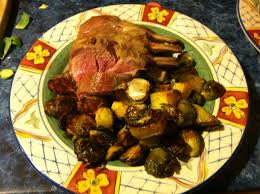 Barefoot Contessa Lamb by Rack Of Lamb Roasted With Winter Vegetables Medieval Meal