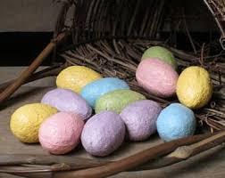primitive easter eggs faux easter eggs etsy