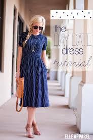 Draped Skirt Tutorial The Day Date Dress Tutorial Sewing Pinterest šití šaty A Móda