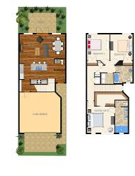Luxury Townhome Floor Plans Key West Luxury Townhomes 12th Ave Indialantic Carpenter Kessel