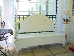 Bench Made From Bed Headboard 13 Best Old Bed Bench Images On Pinterest Headboard Benches Old