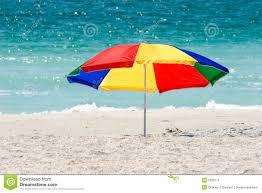 Beech Umbrella Colorful Beach Umbrella Royalty Free Stock Image Image 17820766