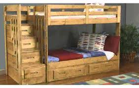 Bedroom Chic Wood Bunk Beds With Stairs And Storage Before The - Wooden bunk beds with drawers