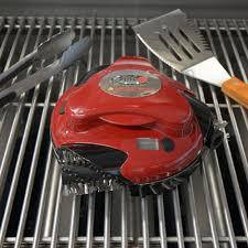 grillbot automatic grill cleaning robot the green head