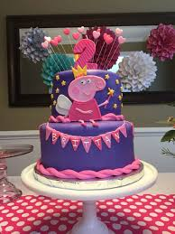 peppa pig cakes themed cakes