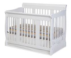Storkcraft Tuscany Convertible Crib Stork Craft Tuscany 4 In 1 Fixed Side Convertible Crib White