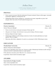 Example Of A One Page Resume by Resume Template One Page Word Civil Engineer Sample Pertaining