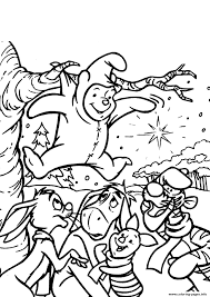 winnie the pooh s stuck in the tree2519 coloring pages printable