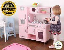 Kidkraft Kitchen Red - kidcraft kitchen childrens pretend play kitchens ebay