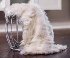 White Soft Rug Genuine Bowron Sheepskin Rug Single Pelt Ivory White Fur Approx