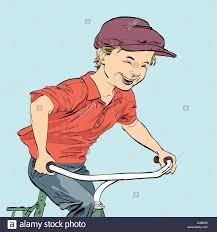 biker stock vector images alamy