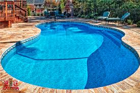 Beautiful Pool Backyards Beautiful Pool Deck Bobco Pools