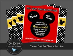 disney baby shower invitations templates cimvitation